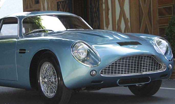 The 1962 Aston Martin Db4 Gt Zagato Salon Privé