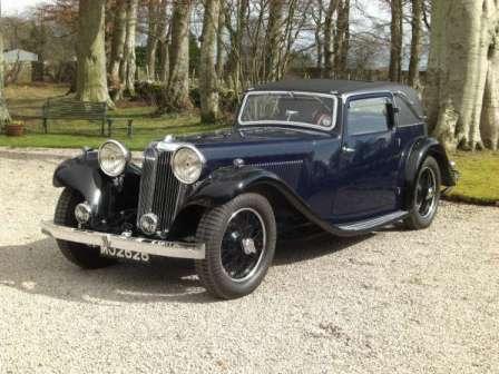 09 Jaguar SS1 Coupé 1933