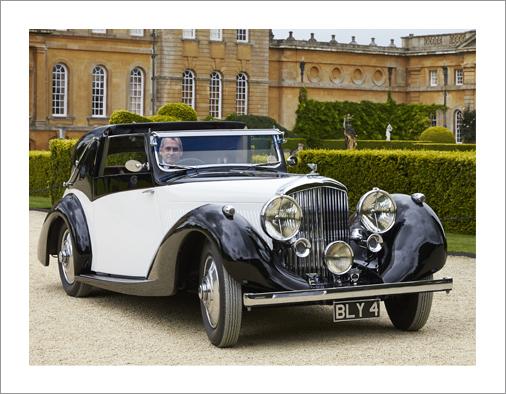 Bentley 4 1.4 l Sedanca Coupe